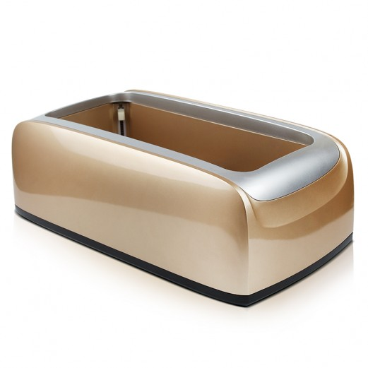SHOE COVER DISPENSER GOLDEN