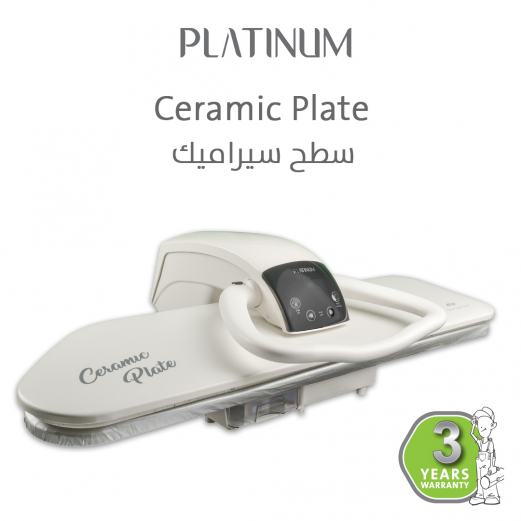 steam press Ceramic Plate