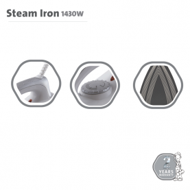 STEAM IRON ED-261B | 1430W