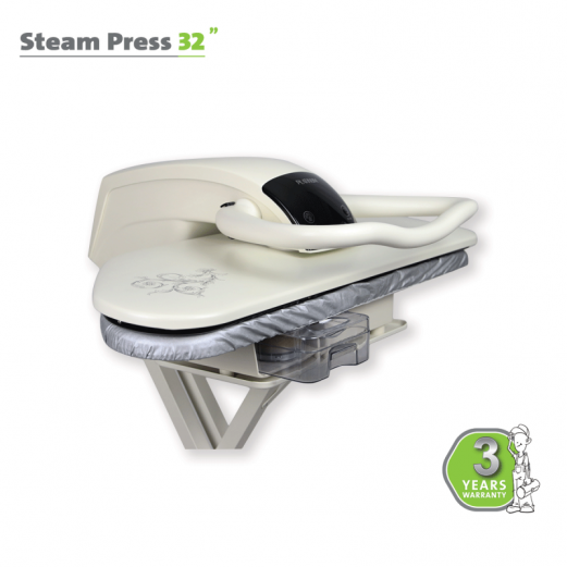 STEAM PRESS 32″ WHITE