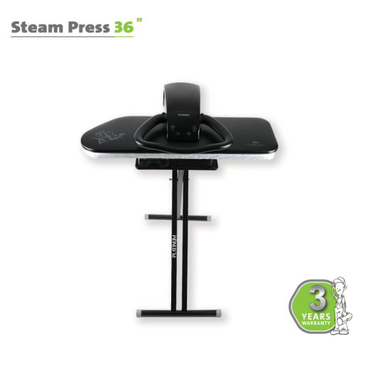 "STEAM PRESS 36"" BLACK"