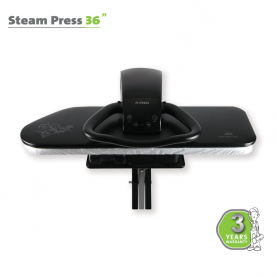 "STEAM PRESS 36"" BLACK"
