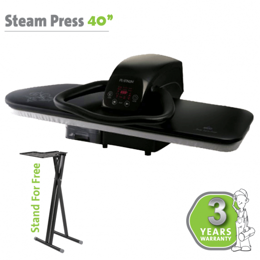 STEAM PRESS 40″ BLACK