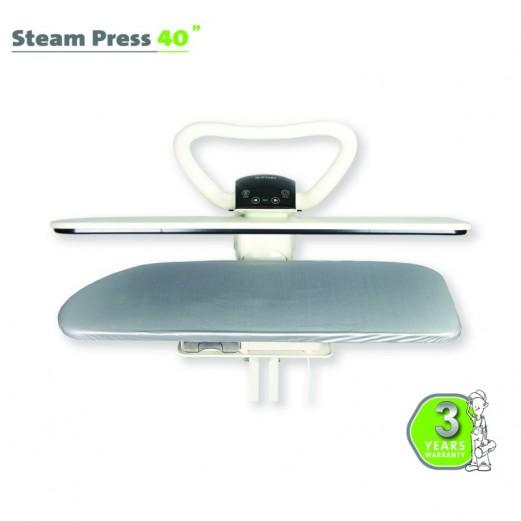 STEAM PRESS 40″ WHITE